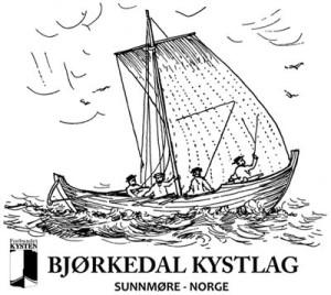 Teikninga av Fjørefar frå Hans Strøm si «Sundmøres beskrivelse» er utgangspunktet for logoen til kystlaget.
