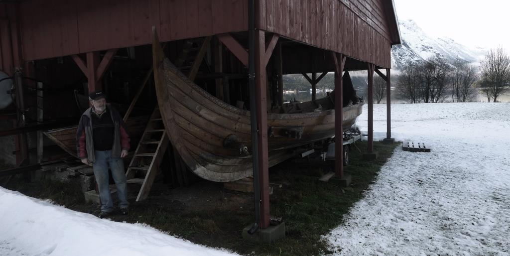 Vinteren er over og vikingskipa til Jakob skal på vatnet.