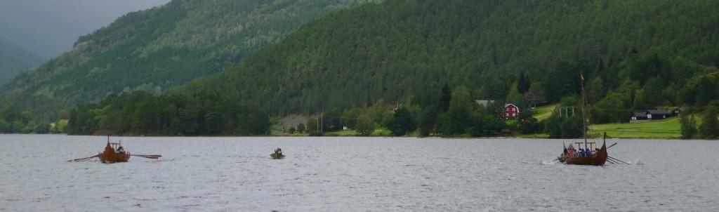 Rostemne på Bjørkedalsvatnet